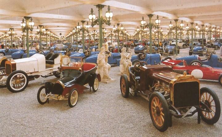 Cité de l'automobile - Musée National - Collection Schlumpf hacia 1977
