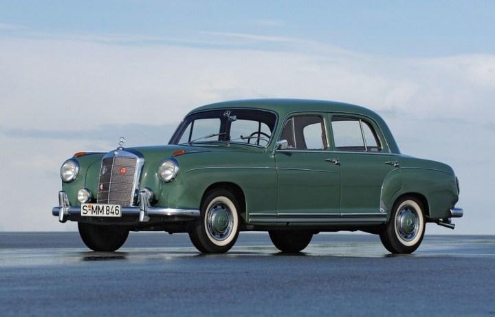 Mercedes-Benz Ponton (1953-62)   Daimler