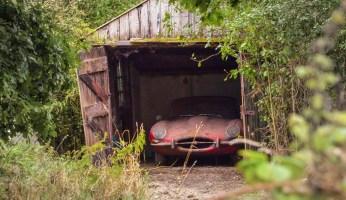 Barnfinds: Jaguar E-Type