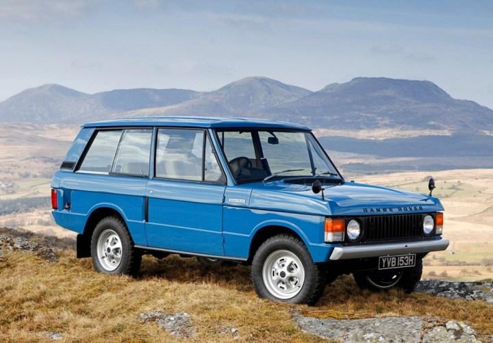 Coches clásicos ingleses: Range Rover | JLR
