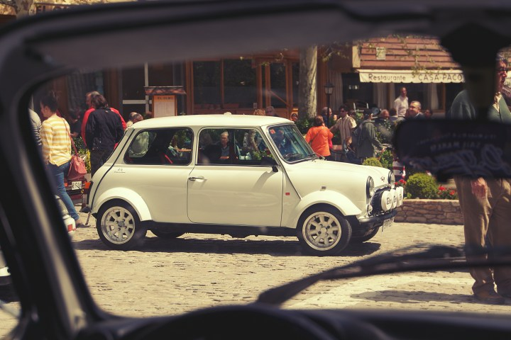 Mini en Navacerrada (Madrid)