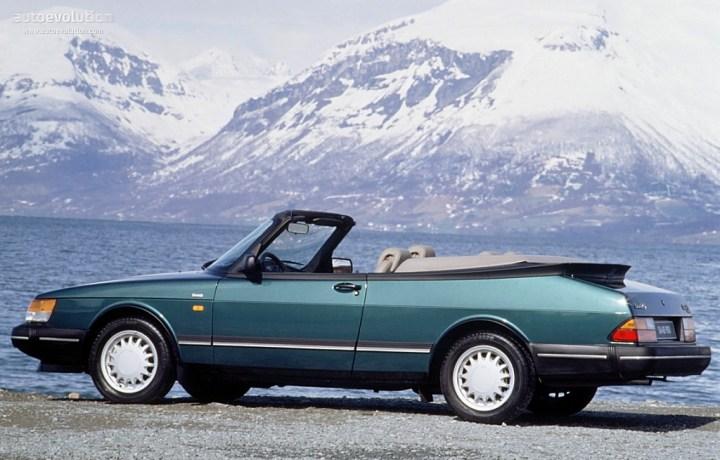 Coches clásicos no alineados: Saab Cabrio