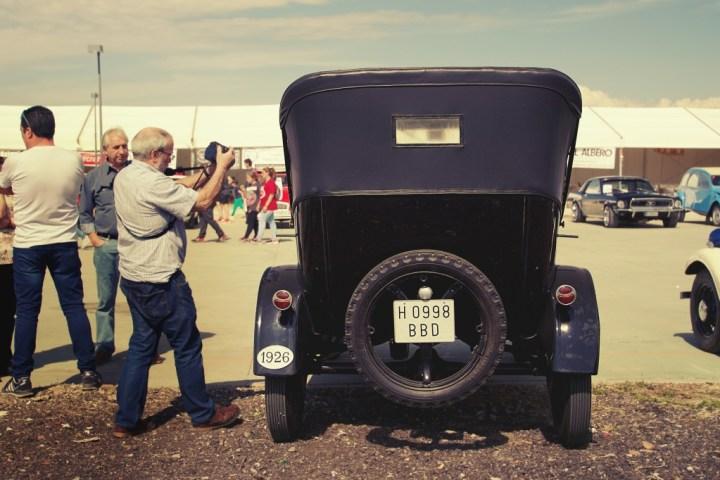 Ford T en Paracuellos de Jarama