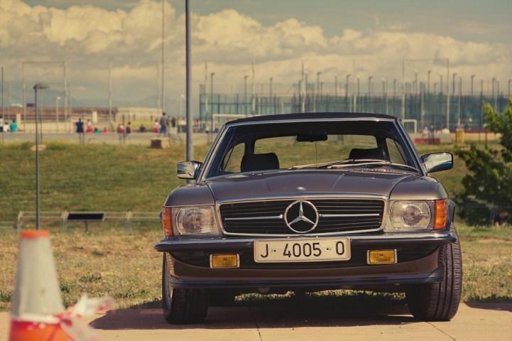 Mercedes-Benz SL R107 en Paracuellos de Jarama