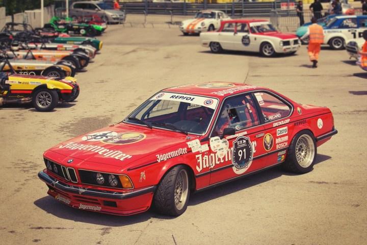 BMW 635 CSi en Jarama Classic