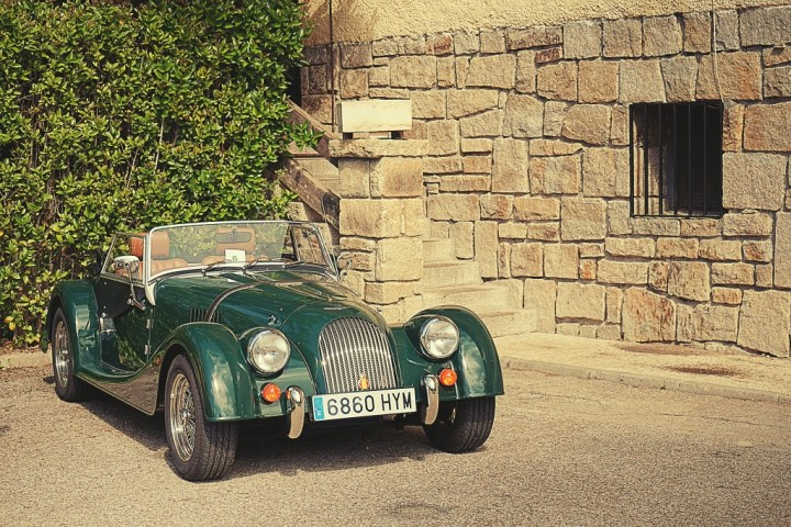 Morgan en Navacerrada (Madrid)