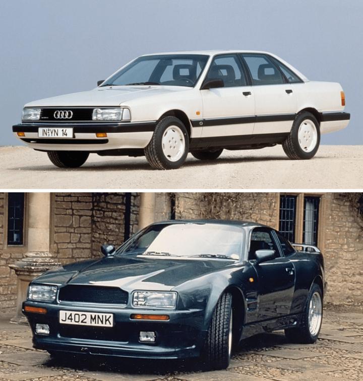 Audi 200 & Aston Martin Virage | Audi, Aston Martin
