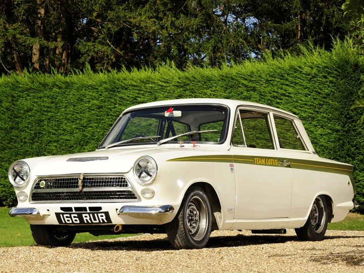 100 iconos indispensables: Ford Lotus Cortina