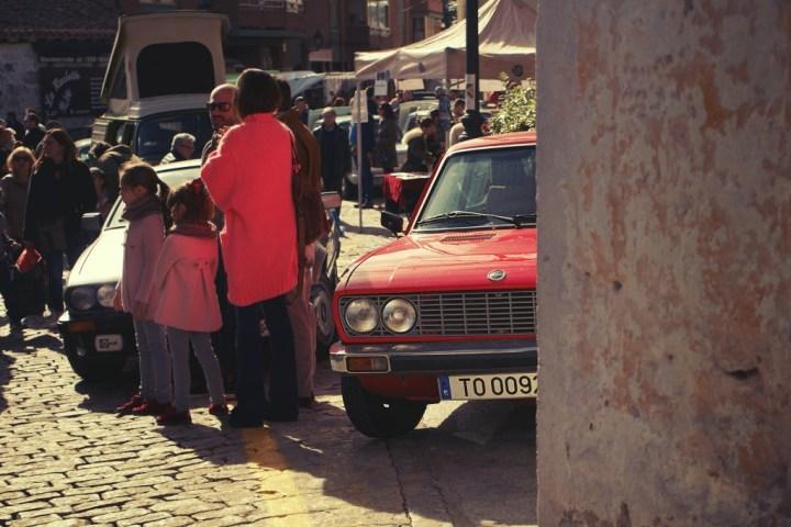 Fiat 128 en Navacerrada (Madrid)
