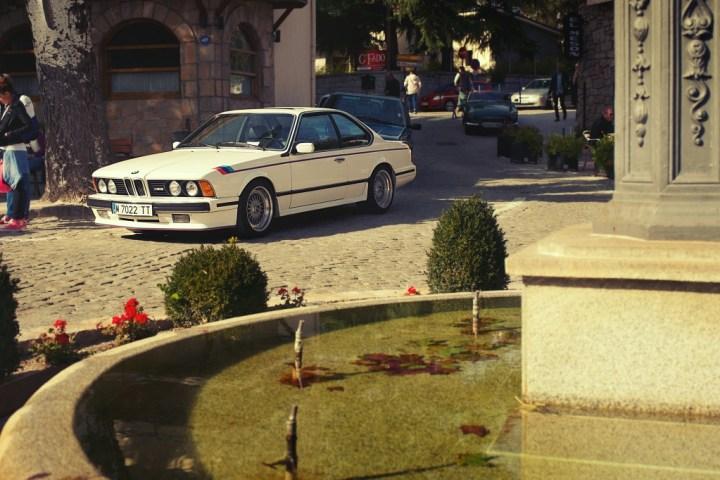 BMW M 635 CSi en Navacerrada (Madrid)