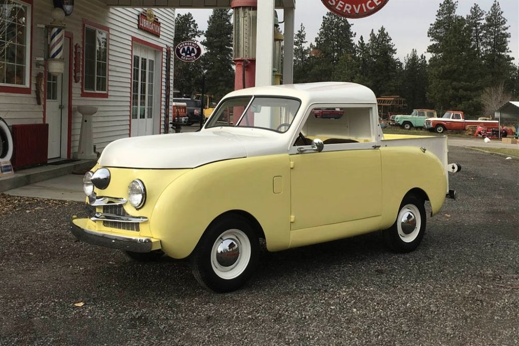 Crónicas Arizona 2019 Barrett Jackson 1947 Crosley Pickup 26.400$