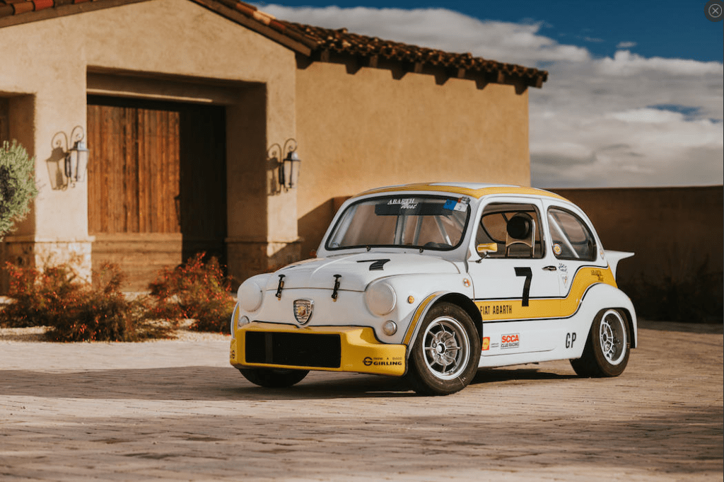 Crónicas Arizona 2019 Bonhams 1967 FIAT-ABARTH 1000TC BERLINA CORSA 16.800 $