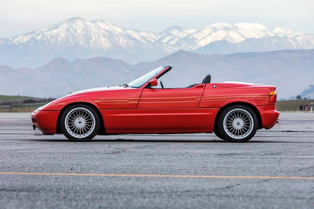 Crónicas Arizona 2019 Bonhams 1991 Alpina Z1 Roadster 140-180.000$ 106.400 $