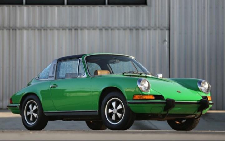Porsche 911 T Targa (1973) 313.500 $ | Gooding & Company