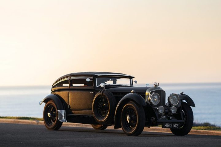 "Bentley ""Blue Train"" Recreation (1953) est. 400-500.000 $ 