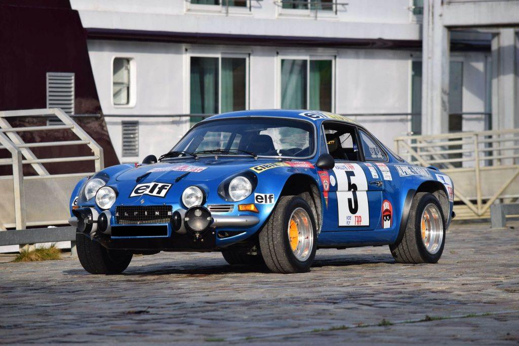 Artcurial 1973 Alpine A 110 1800 Gp4 Usine 369.520 €