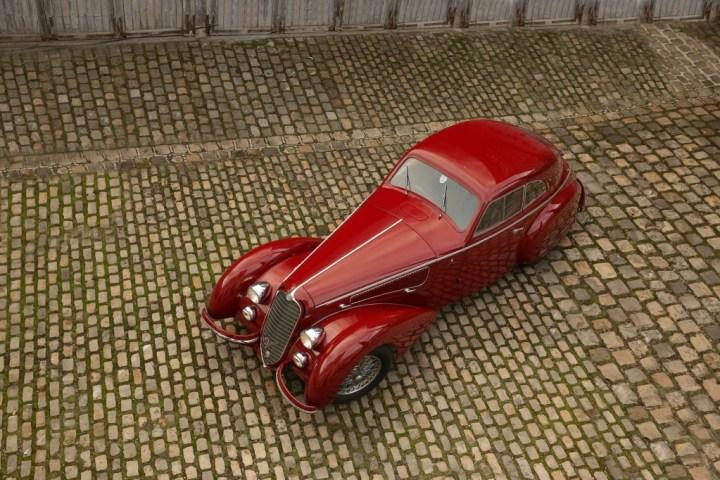 Alfa Romeo 8C 2900B Touring Berlinetta (1939): 16.475.000 € | Art Curial