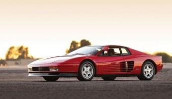 "Russo and Steele 1986 Ferrari Testarossa ""Monospechio"""