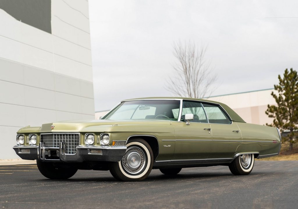 Gooding and Company 1971 Cadillac Sedan DeVille $20,000