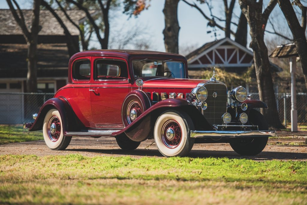 RM Sotheby's 1932 Cadillac V-8 Five-Passenger Coupe by Fisher $47,600