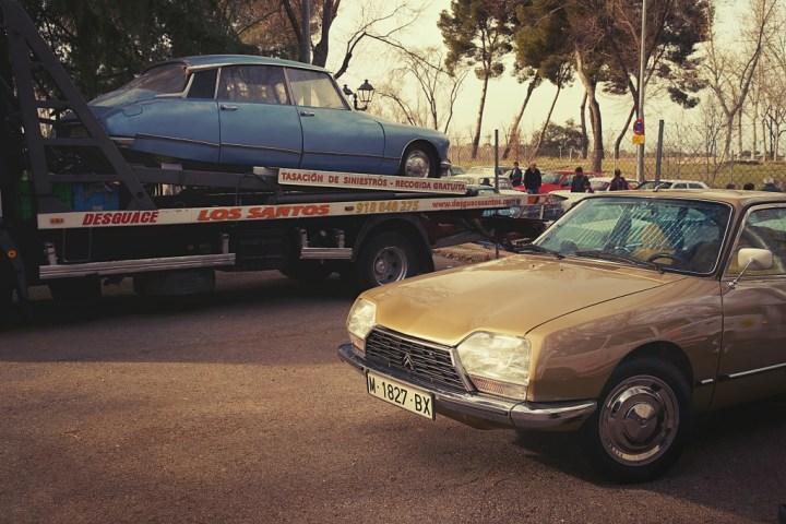 Citroën GS en ClassicAuto Madrid