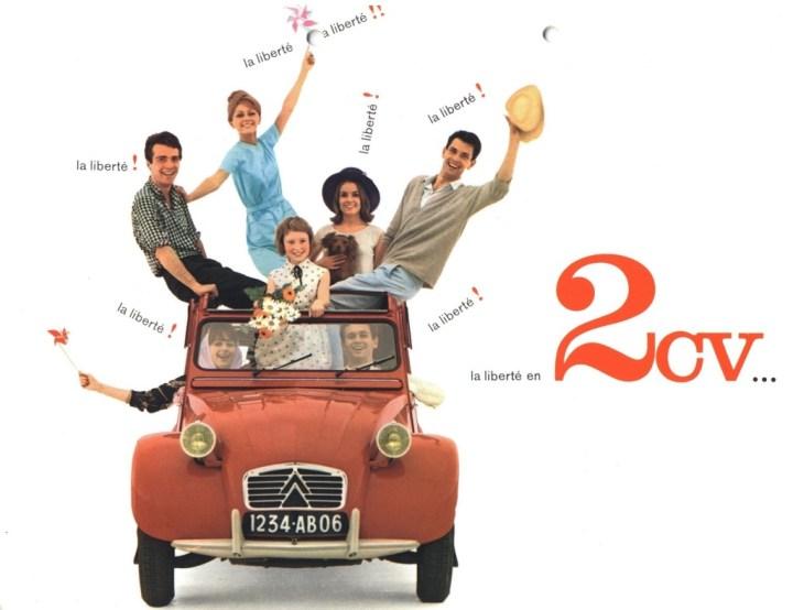 Citroën 2CV anuncio | Crédito imagen: Grupo PSA