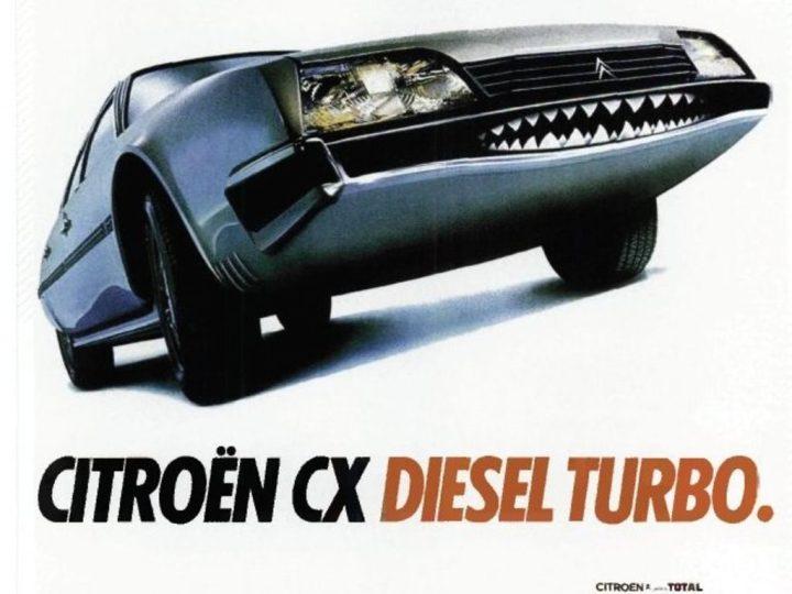 Citroën CX anuncio | Crédito imagen: Grupo PSA