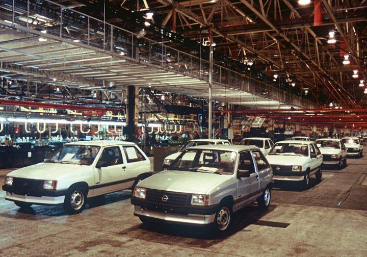 Fábricas de automóviles en España: Opel Figueruelas