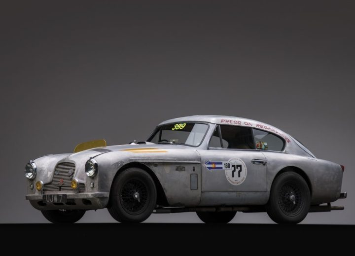 RM Sotheby's 1957 Aston Martin DB2/4 Mk II $302,000