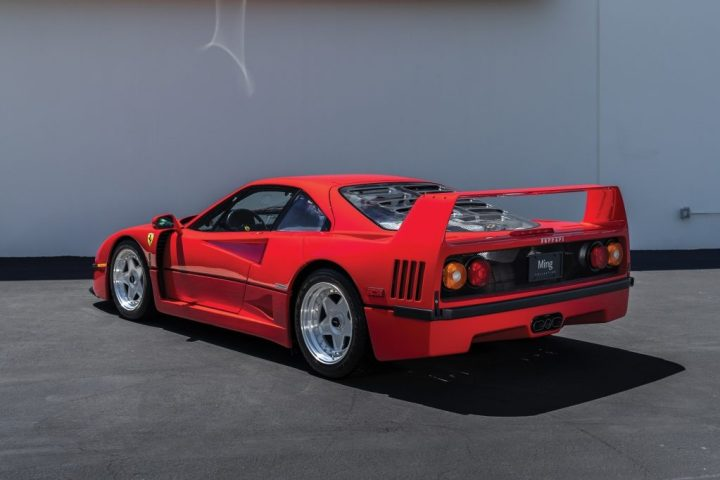 RM Sotheby's 1991 Ferrari F40