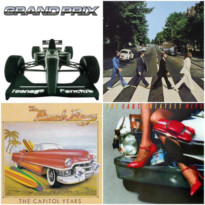 Teenage Fanclub – Grand Prix · The Beach Boys - The Capitol years · The Beatles – Abbey Road · The Cars - Greatest Hits