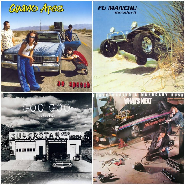 Frank Marino & Mahogany Rush - What's next · Fu Manchu - Daredevil · Goo Goo Dolls - Superstar Carwash · Guano Apes - No Speech