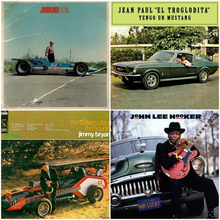 Jawbreaker - Etc. · Jean Paul El Troglodita - Tengo un Mustang · Jimmy Bryant - The fastest guitar in the country · John Lee Hooker - Mr. Lucky