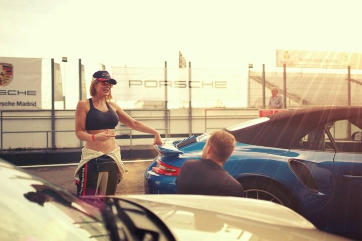 Porsche 911 pilot en el Circuito del Jarama