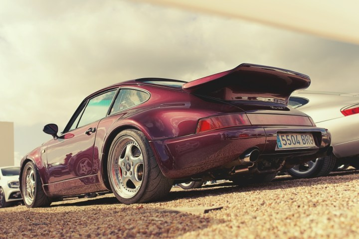 IfYouLikeCars8 964 Turbo rear 3/4 low