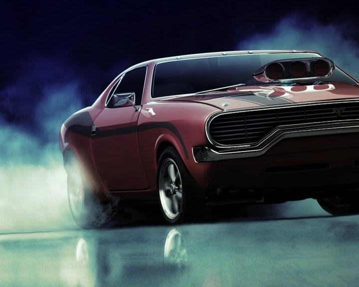 Ilustración Dodge Charger