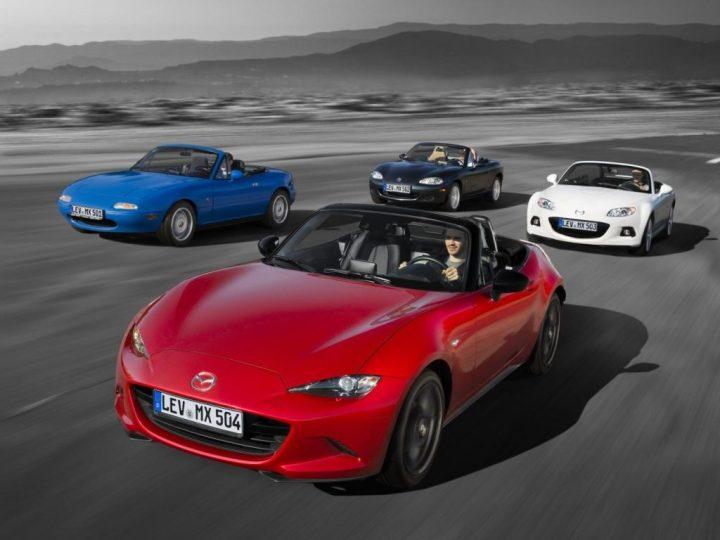 Mazda MX-5: antes y ahora
