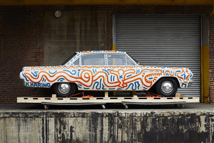 El Buick Special de 1963 diseñado por Keith Haring