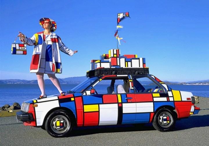 "El ""Mondrian Mobile"" por Emily Duffy"