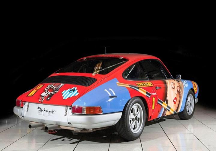 El Porsche 911 de 1965 diseñado por Peter Klasen