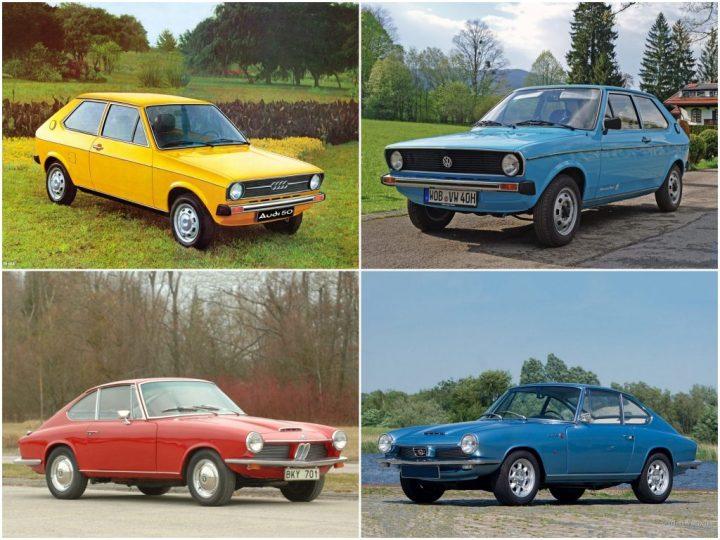 Badge engineering: Audi 50, Volkswagen Polo, BMW Glas 1600 GT y Glas 1700