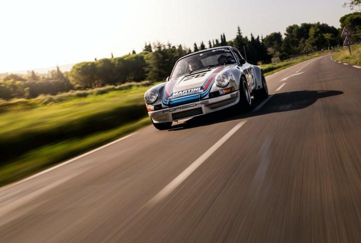 Preciosa escena del Rallye des Legendes | Richard Mille]