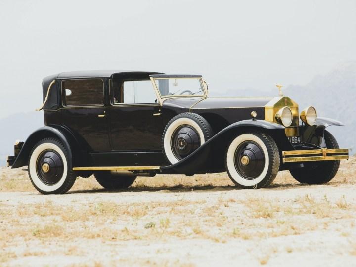 Rolls Royce Phantom I Marlborough Town Car Landaulet by Brewster (1931) 95.200 $ | RM Sotheby's