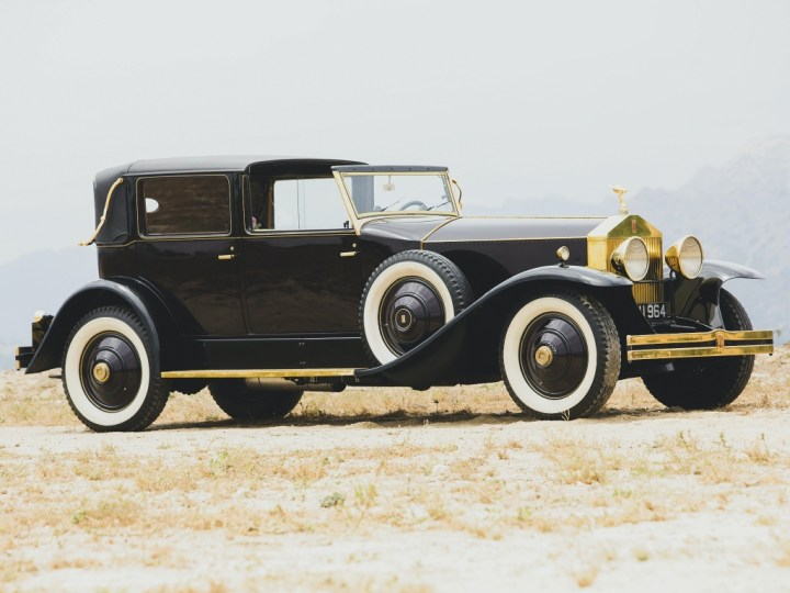 Rolls Royce Phantom I Marlborough Town Car Landaulet by Brewster (1931) 95.200 $ | RM Sotheby's