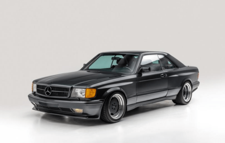 """Mercedes-Benz 560 SEC """"Wide Body"""" Coupe (1989) 