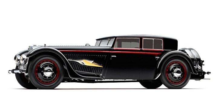 """Bucciali TAV 8-32 V12 """"Fleche d'Or"""" de 1932"""