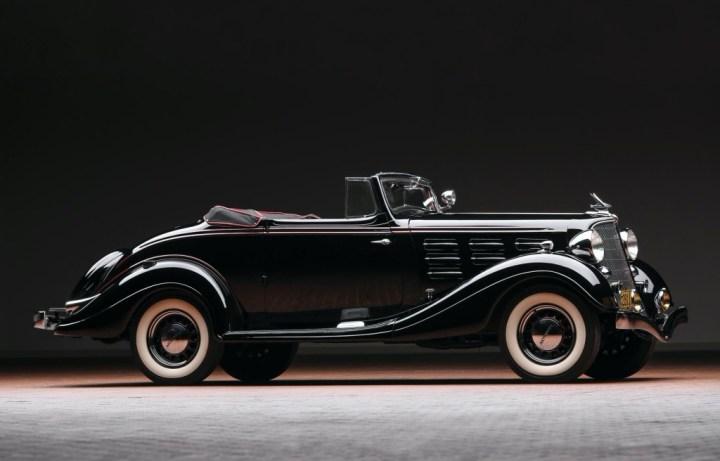 Hudson Series LU Deluxe 2:4-Passenger Convertible Coupe de 1934