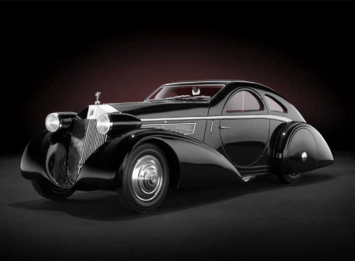 Rolls-Royce Phantom I Jonckheere Coupé de 1935