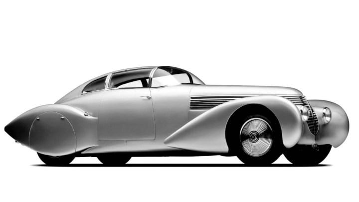 Hispano-Suiza Dubonnet Xenia de 1938 3/4 frontal