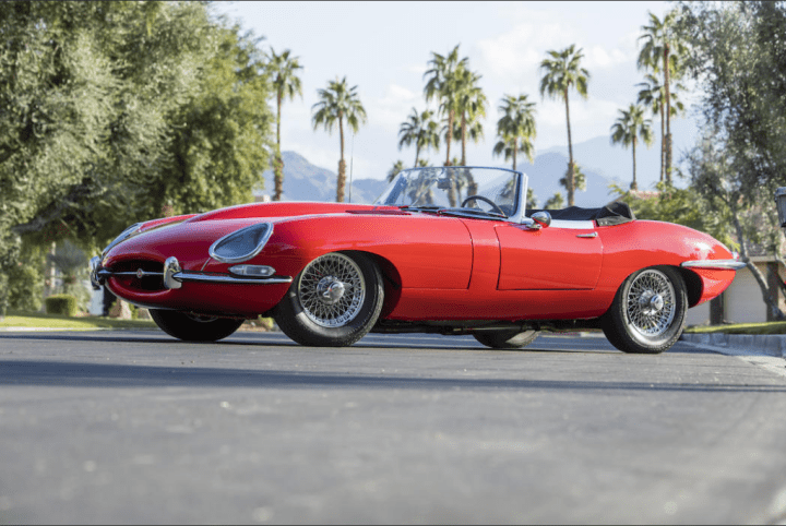 1963 JAGUAR E-TYPE SERIES 1 3.8-LITER ROADSTER 123.200$